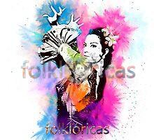Diseño Lola Flores Torbellino de Colores