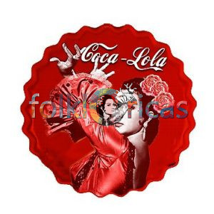 Lola Flores Chapa Coca-Lola